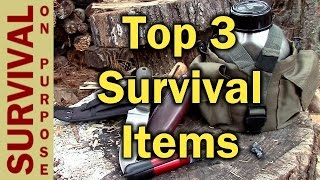 Survival Gear - My 3 Favorite Items