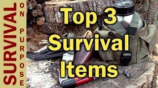 Survival Gear - My 3 Favorite Items