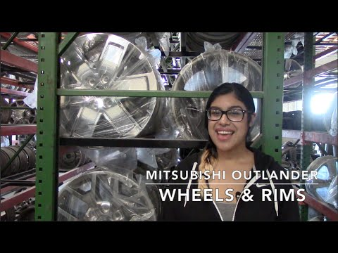 Factory Original Mitsubishi Outlander Wheels & Mitsubishi Outlander Rims – OriginalWheels.com
