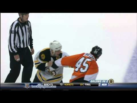 Jody Shelley vs. Shawn Thornton