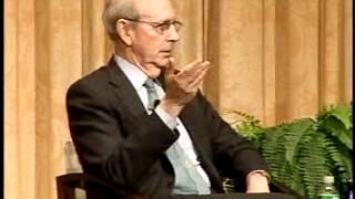 Antonin Scalia and Stephen Breyer debate the Constitution