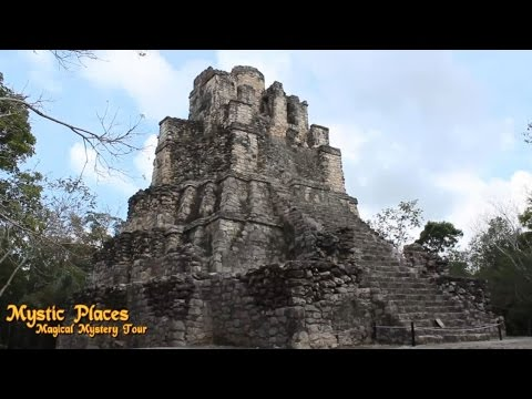 1.3 Mystic Places- Muyil Ancient Maya Pyramid & Ruins. Mexico