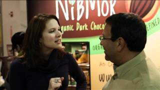 Eat More Chocolate Nibmor Organic Vegan Chocolate NY Chocolate Show