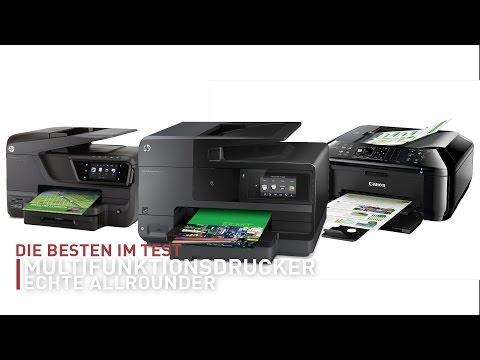Welcher ist der beste Multifunktionsdrucker - Test deutsch | CHIP