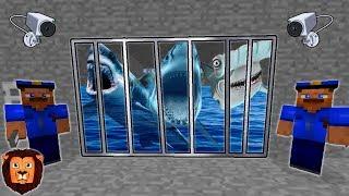 TIBURONES PRESOS (MINECRAFT PRISON ESCAPE) | MINECRAFT ESCAPA DE LA PRISION CARCEL ROLEPLAY