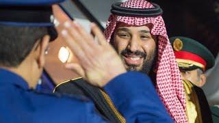 عاجل  لحظة استقبال محمد بن سلمان في بريطانيا   استقبال ملكي😍