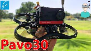 """BetaFPV Pavo30 3"""" Cinewhoop - Build, Review & Flight"""