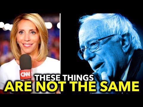 Bernie Sanders Shuts Down CNN's Gross False Equivalence