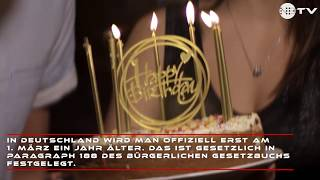 Schaltjahr 2020: Schaltjahrskinder dürfen endlich wieder ihren Geburtstag feiern!