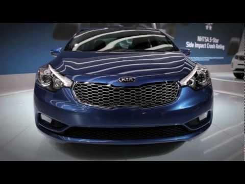 2014 Kia Forte New Look - 2012 LA Auto Show