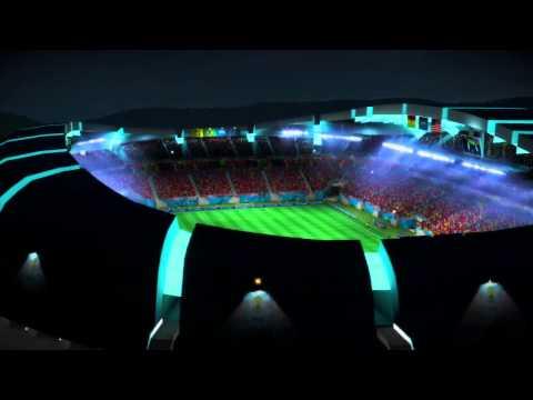 EA SPORT COUPE DU MONDE DE LA FIFA BRÉSIL 2014 JEU XBO