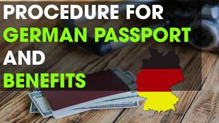 HOW TO APPLY FOR A GERMAN PASSPORT?