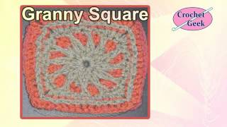 How To Make A Crochet Granny Square - Free Patterns Crochet Geek