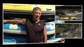 preview picture of video 'Rafting, descentes des gorges du Roc d'Enfer à Lathus-Saint-Rémy - Témoignage'