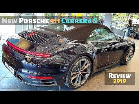 New Porsche 911 Carrera S 2019 Review Interior l Black Version
