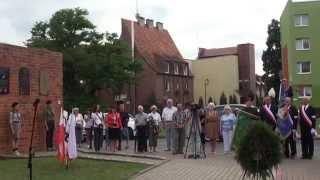 preview picture of video 'Lubin oddał hołd Powstańcom Warszawskim 1.08. 2014.'