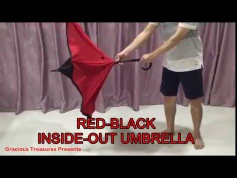 Inside Out Umbrella AKA Inverted Umbrella AKA Reverse Umbrella