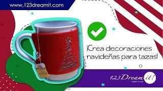 Decoraciones navideñas para tus tazas