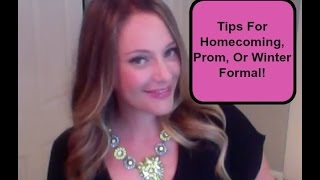 Ask Shallon: How To Get Your Crush To Ask You To Prom or Homecoming | High School Dating Advice