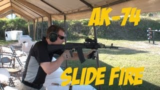 Range Day - AK-74 Slide Fire Stock