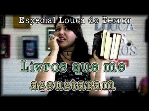 Livros que me assustaram {LOUCA DO TERROR #7}
