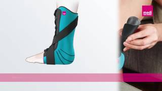 Video: Medi Levamed Stabil Tri Ankle Brace