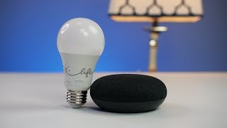 Google Home Mini & GE C-Life Smart Bulb Setup