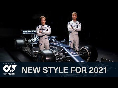 F1 2021 アルファタウリ「AT02」が公開
