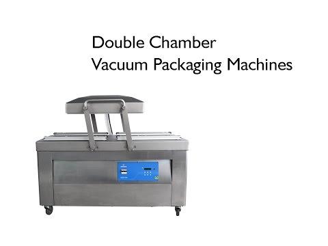 Double Chamber Vaccum Packaging Machine , Sevana Make