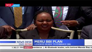 Mt. Kenya leaders meet Raila to plan for BBI rally in Meru