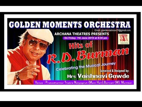 GOLDEN MOMENTS   R D  BURMAN   NISHA BY SAMPADA