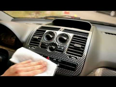 Mercedes Vito Carbon Dash Trim Kit Fitting Prew.