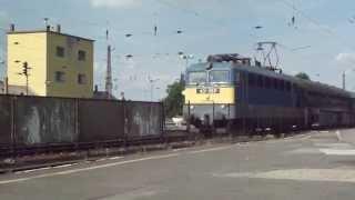 preview picture of video '431 057 érkezik személyvonattal Füzesabony állomásra'