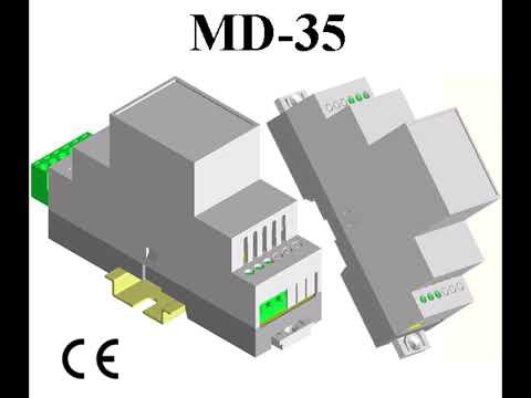 Modular Din Rail Enclosures MD-35