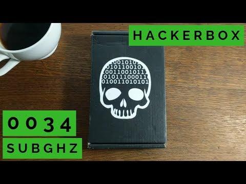 HackerBox 0034 SubGHz (RTL-SDR + FM transmitter & receiver + 433MHz