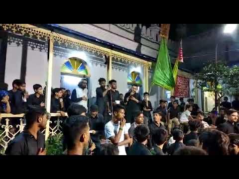 ANJUMAN_E_SHABIHE_PAYAMBAR MATAMI DASTA ANGARO PE CHALTE HAI ...