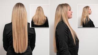 50 cm Extensions!   Schonende Haarverlängerung mit Great Lengths   Hairsystems Heydecke