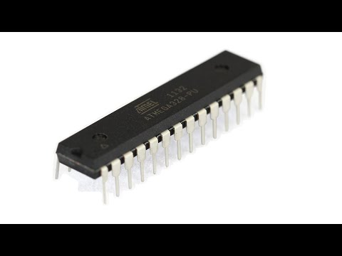 Atmel Programming Tutorial 1 – 1st Programming and Blink a LED