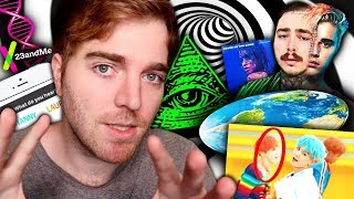 MIND BLOWING CONSPIRACY THEORIES