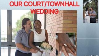 OUR TOWNHALL / CIVIL WEDDING /INTERRACIAL WEDDING/GREEK WEDDING(γάμο)