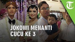 Jokowi Menanti Cucu Ketiga, Ethes akan Punya Adik