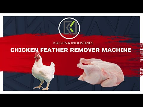 Chicken Feather Cleaning Machine 5 Birds