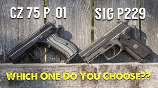 CZ P-01 vs Sig P229 Legion - Which One Do You Choose??