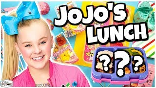 We Made Lunch for JOJO SIWA! 🍎 Bunches Of Lunches