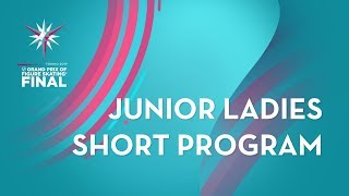 LIVE 🔴 | Ladies Short Program | ISU Junior Grand Prix Final | Torino 2019 | #JGPFigure