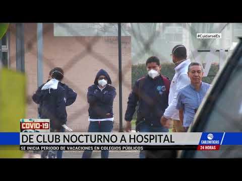 El Castillo, de club nocturno a hospital para atender pacientes con Covid-19