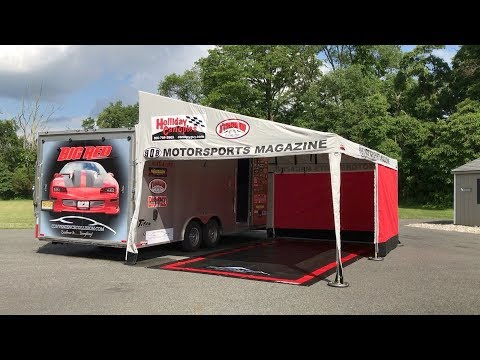 Holliday Canopies Aluminum Frame Motorsports Trailer Awning - How To Guide