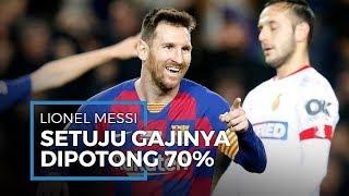 Polemik Pemotongan Gaji Pemain Barca, Presiden Barca: Messi Tak Pernah Tolak Pemotongan Gaji!