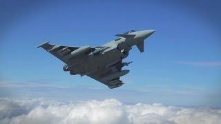 BAE Systems - Eurofighter Typhoon P3E Weapons & Radar Enhancements [1080p]
