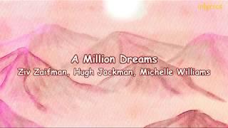 Ziv Zaifman, Hugh Jackman, Michelle Williams - A Million Dreams (lyrics with Indonesian sub)